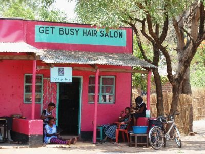 Roadside hair salon