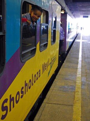 On the Jo'burg- Capetown train