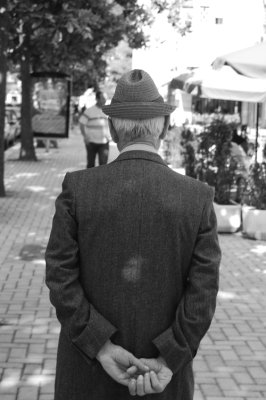 Old man on street