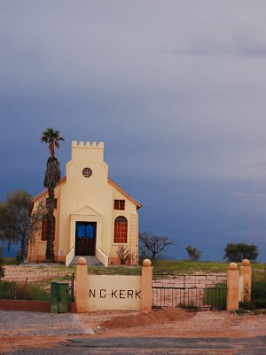 A roadside church