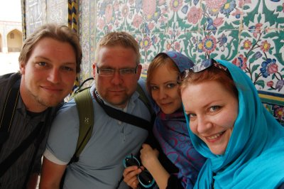 Us in Shiraz