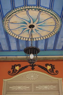Detail of a ceiling