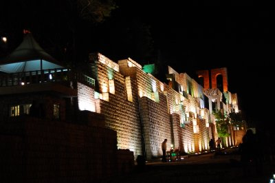 Shiraz at night