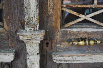 Detail of a door