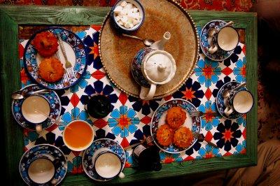 Tea and cake break