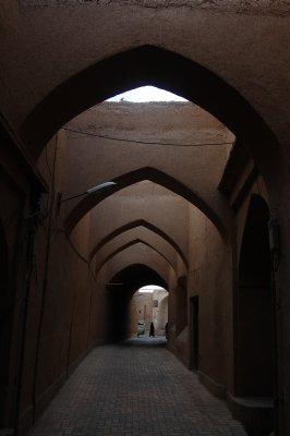 Yazd alleyway