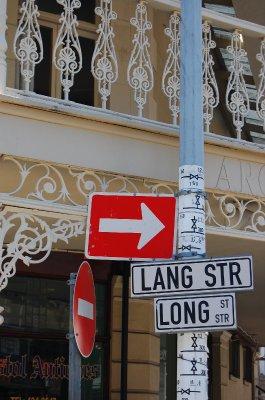 Long Street Sign