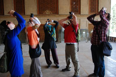 All the tourists of Iran