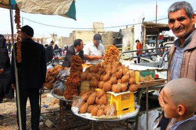 The non-tourist part of the market. Even got my bum pinched here. Very unusual for Iran!