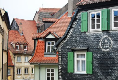 Rooftops in Bamberg