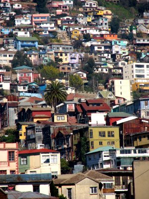 Valparaiso&#39;s Colours