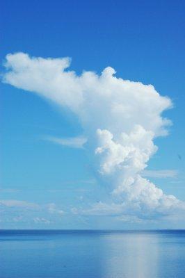 Clouds over Lake Malawi
