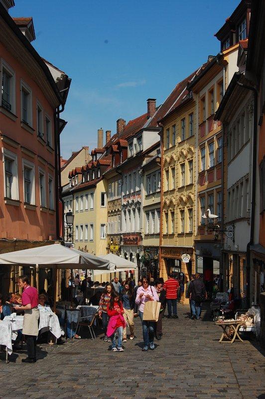 Street in Bamberg