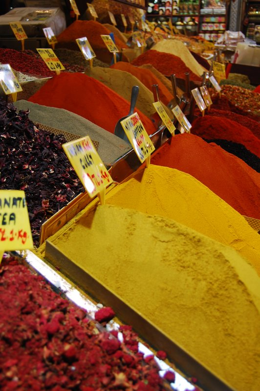 Spices at the market 2