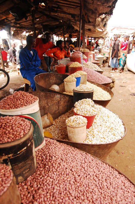 Peanut sellers at Soweto Market