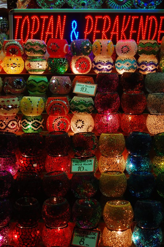 Lanterns at the market