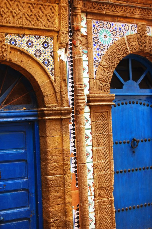 Two doors in Essaouira