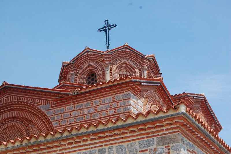 Ohrid Church wall