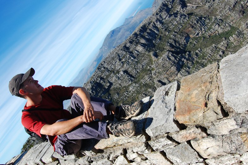 Rich on Table Mountain