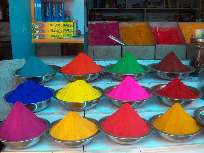 Colourful India