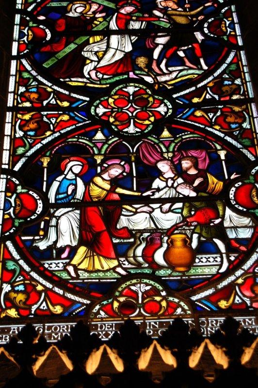 Salisbury Cathedral window