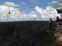 Gorge Swing in Livingstone