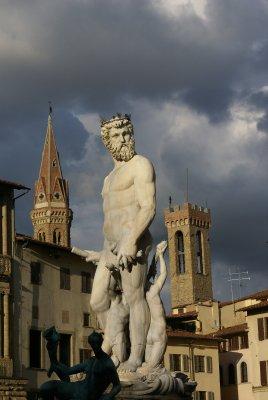 Statue de la piazza de Signoria - Florence