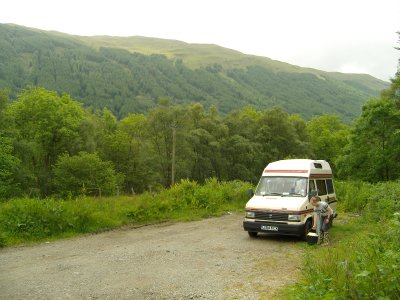 T-Unit at Loch Voil