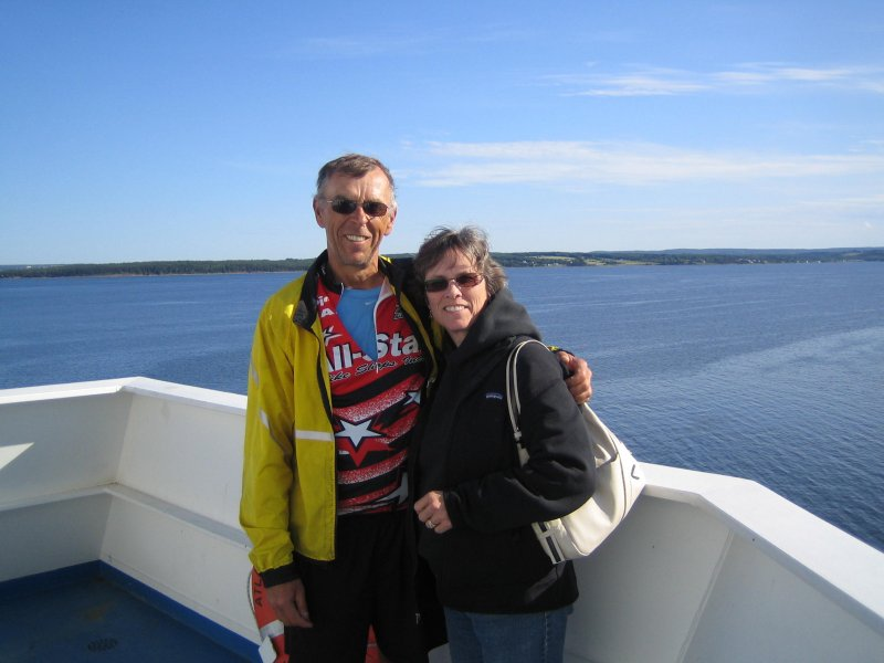 On the ferry to Port-aux-Basques