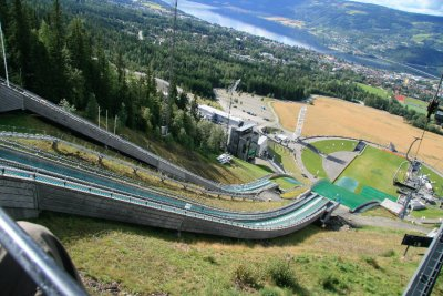 Olympic Ski Jump in Lillehammer 2