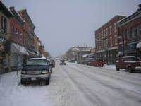 Main Street Snow, Fernie, BC