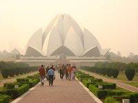 Bahai Temple. Delhi