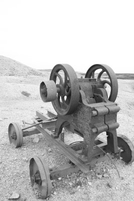 Old Mining Equipment above Gunnerside Ghyll, Swaledale