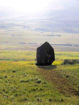 Maen Elia Standing Stone, Brecon Beacons