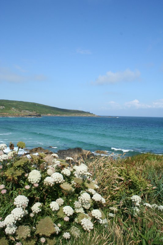 Looking out over Porthmeor Beach