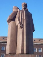 'Red Soldiers' statue, Riga