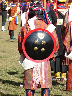 Traditional Bhutanese Military Uniform