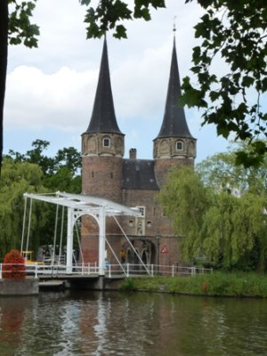 Oostpoort gate, Delft