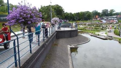 View of small part of Madurodam from the entrance