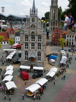 Model of Gouda Stadhuis (town hall), Madurodam