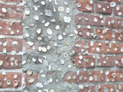 The wall of the chewing gum alley in Alkmaar