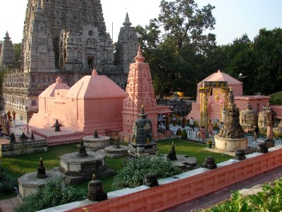 Stupa Gardens on the Mahabodhi Temple grounds