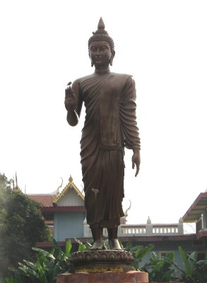 Statue on grounds of Thai Temple