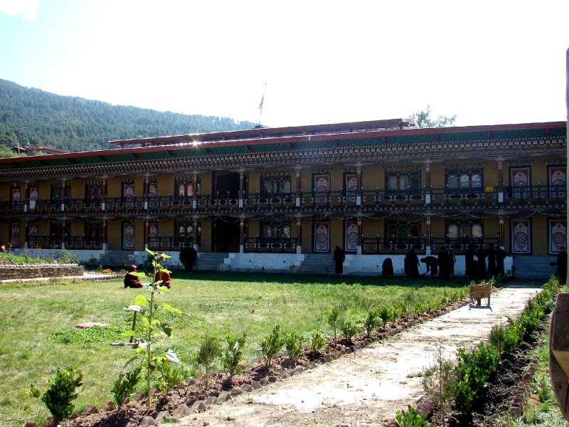 Konchogsum Lhakhang monks quarters
