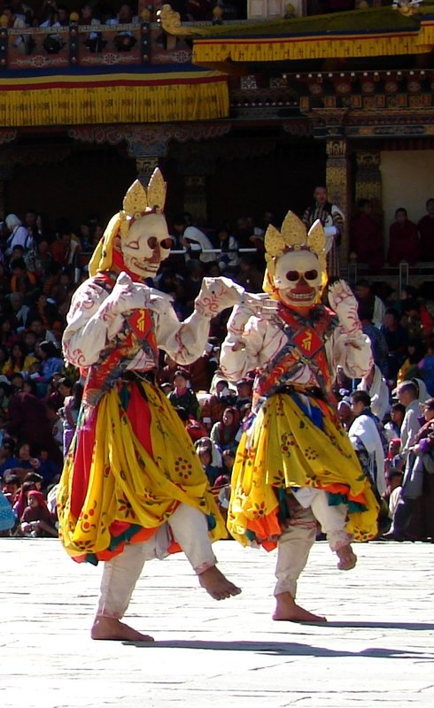 Masked Dancers in the Lords of the Cremation Grounds