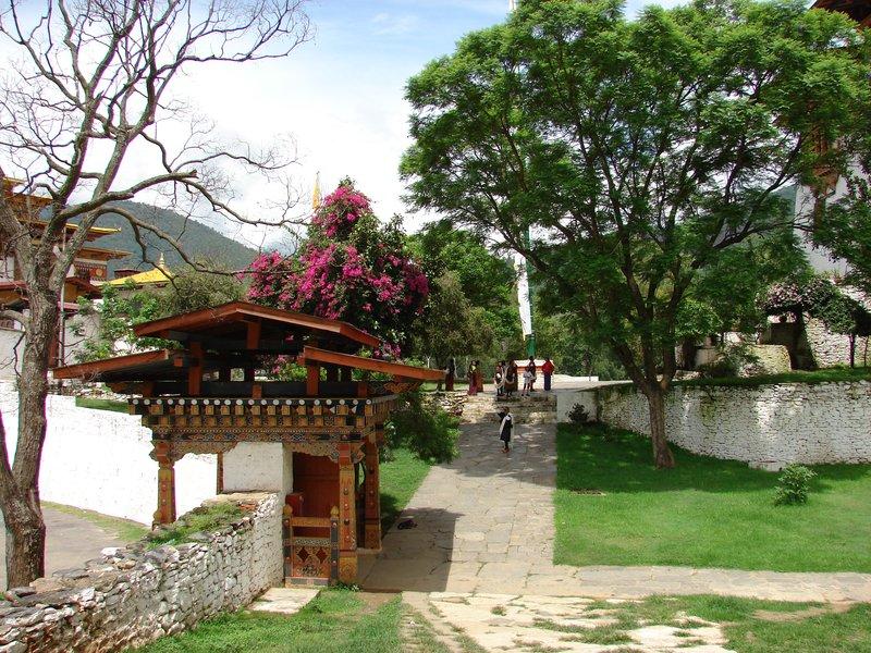 Entrace to Punakha Dzong