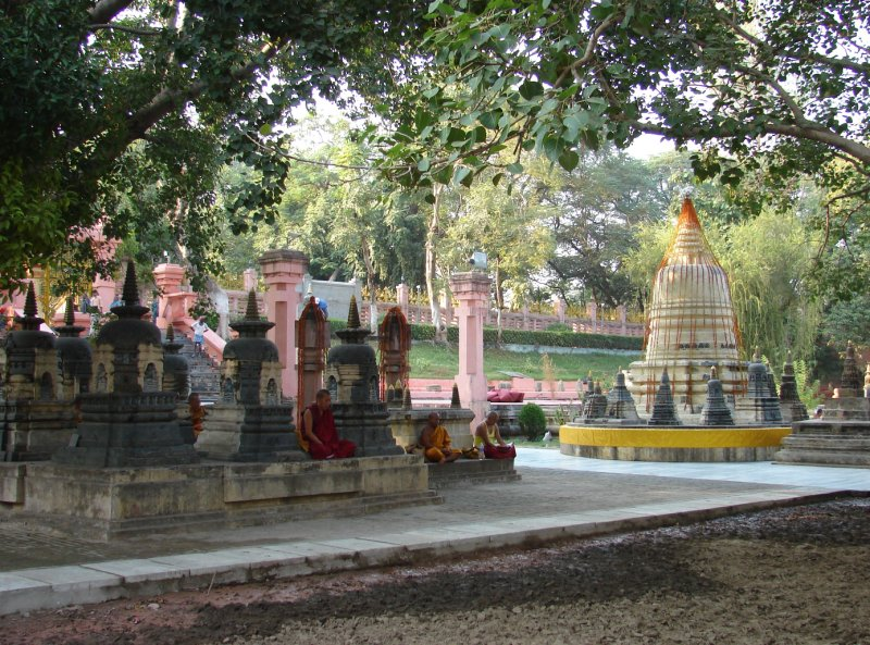 The Mahabodhi Temple grounds