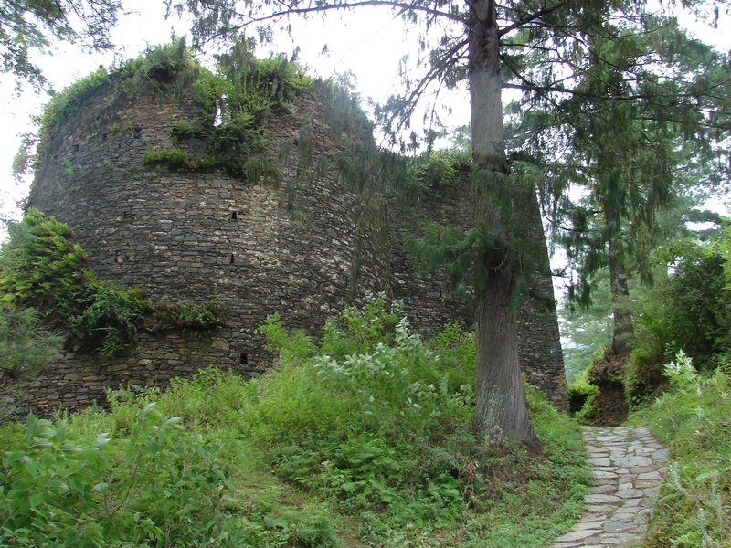 Another View of the North tower of Drukgyel Dzong