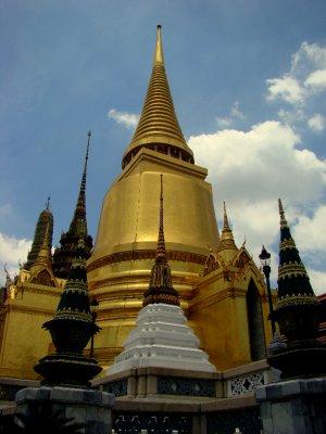 grand palace's stupas
