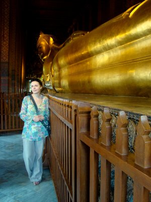 reclining Buddha of wat pho